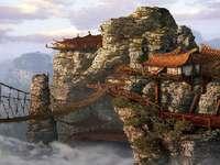Casa nas rochas