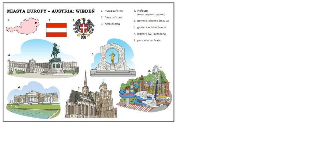 Cidades da Europa - Viena - Nós convidamos você a resolver quebra-cabeças sobre Viena. Um close-up de um logotipo (6×4)