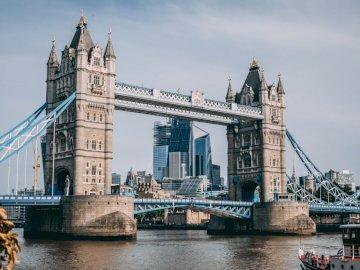 Мост на кулата - Тауър Бридж, Лондон, Обединеното кралство. Голям мост н