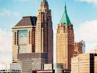 New York, Egyesült Államok - New York, Egyesült Államok. Egy magas épület a Bank of America Plaza-ban.