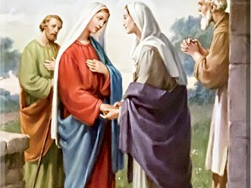 The visitation Elizabeth - The visitation Elizabeth through Mary is a perfect model for such meetings, the purpose of which is