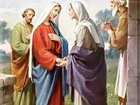 De visitatie Elizabeth - De visitatie Elizabeth tot en met Maria is een perfect model voor zulke ontmoetingen, met als doel h