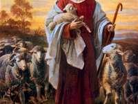 Ο Ιησούς ο καλός βοσκός - Ο Ιησούς είναι καλός βοσκός.