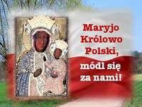 Mária, Szűz Mária, Lengyelország királynője
