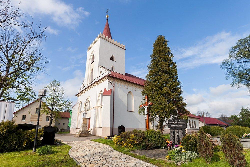 Kościół w Zalesiu - Kościół w Zalesiu Śląskim (5×5)
