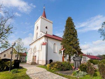 Church in Zalesie - Church in Zalesie Śląski.