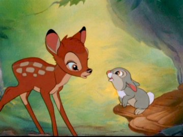 deer bambi puzzle - it's a very nice fairy tale.