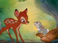 hjort bambi pussel