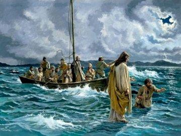 St. Piotr geht auf dem Wasser - St. Piotr geht auf dem Wasser.