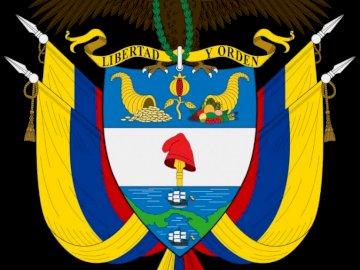 Tarcza Kolumbii - Jest to symbol Kolumbii.