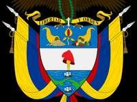 Kolumbie štít - Je to symbol Kolumbie.
