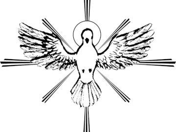 Holy Spirit symbol - Religious symbol, the Holy Spirit.