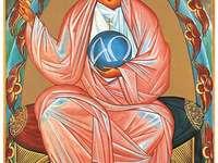 Une image de l'icône de Dieu le Père