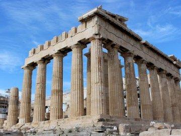 PuzzlowyAkropol - Ułóż puzzle , zwiedzamy Grecję a w niej piękny Akropol.