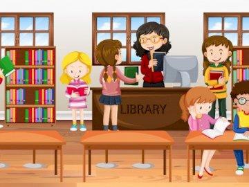 Biblioteka - Biblioteka - 8 maja - święto Bibliotekarzy i Bibliotekarek.
