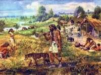 Rompecabezas del granjero neolítico