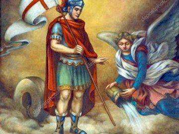 Święty Florian patron strażaków - Święty Florian patron strażaków.