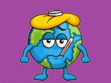 Chora ziemia - Planeta Ziemia chora.