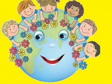 Planeta ziemia z dziećmi - Planeta ziemia z dziećmi.