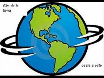planeta ziemia - Planeta Ziemia w ruchu obrotowym.