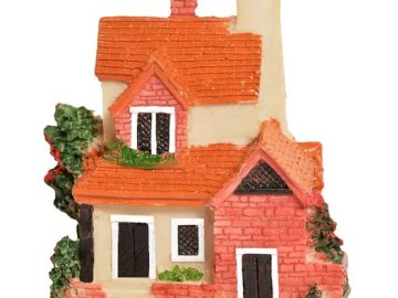 A small house - House to arrange for the youngest children. A house with a red brick building.
