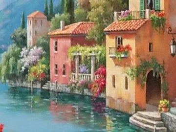 Vida pacifica - Vida pacifica i relajante para descansar. Mały dom otoczony wodą.