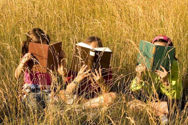 Lire dans la nature