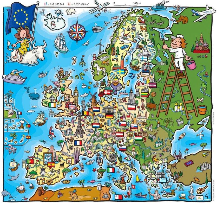 Europa - Kinderrätsel