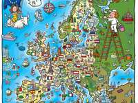 Ευρώπη - Παιδικά παζλ