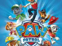 Paw Patrol - Puzzles for children with the characters Paw Patrol.