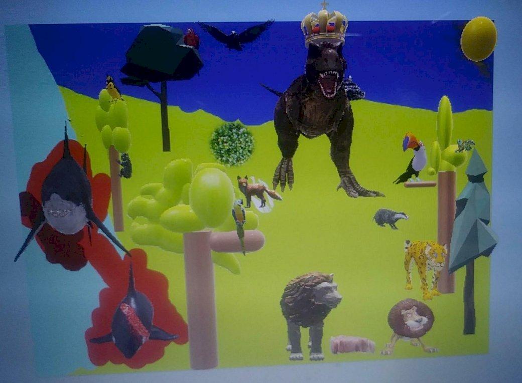 jungla natura vallejo - este pentru copii o natură în junglă (5×5)
