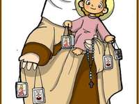 Virgen del Carmen Infantil 5 years