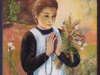 Bl. Karolina - Selige Karolina Kózkówna. Ein Gemälde einer Person.