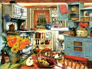 Interior. Küche. - Wnętrze
