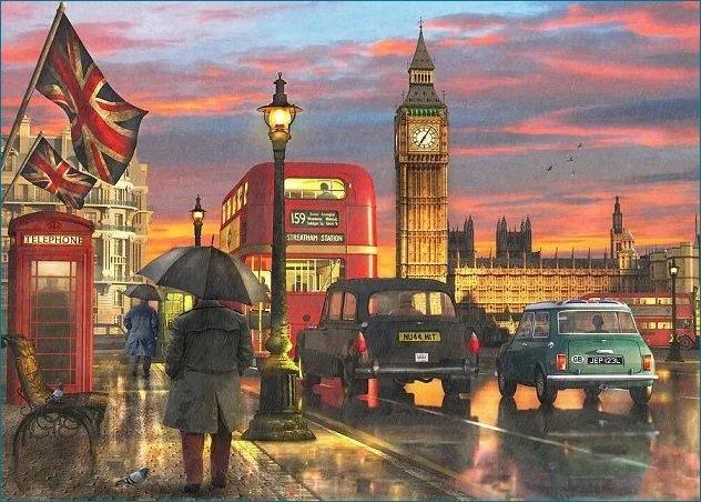 Paesaggio di Londra.