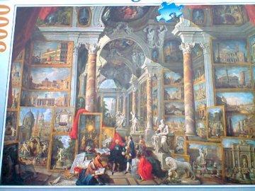 Jean Marie - sala obrazów w muzeum.