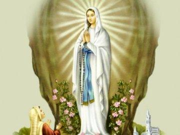 Virgin of Lourdes - Plaga Dziewicy z Lourdes.