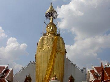 BUDDHA IN BANGKOK WAT INTHARAWIHAN - BUDDHA IN BANGKOK WAT INTHARAWIHAN.