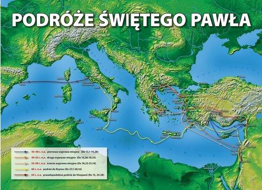 I viaggi missionari di Paweł