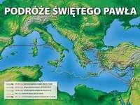 Los viajes misioneros de Paweł