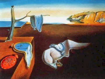 Salvador Dali - is the work of Salvador Dalí, the Persistence of memory.