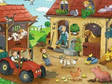 Farma - 50-częściowa układanka.