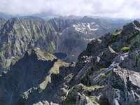 Tatras eslovacos - vista desde Krywanie