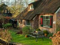 Niederlande. Giethoorn. Online-Puzzle