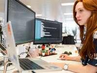 Códigos de engenheiro de software feminino