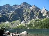 Paysage de montagne - montagnes en Pologne