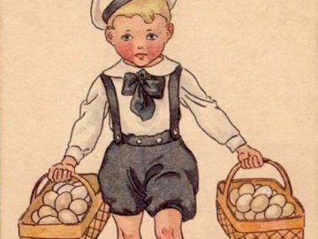 čerstvé vajíčka na prodej - čerstvé vajíčka na prodej. Zakończenie up tekst na białym tle.