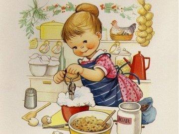 zkouším dělat šlehačku - zkouším dělat šlehačku. Eine Person, die an einem Tisch mit einem Teller des Essens sitzt.