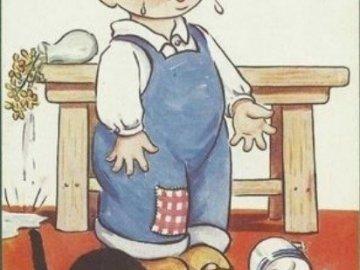brečím,kočka mi rozlila mléko - brečím,kočka mi rozlila mléko.