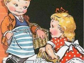 dnes je úklidový den - dnes je úklidový den. Eine Nahaufnahme einer Puppe.